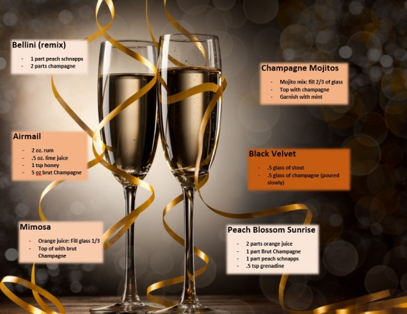 champagne bar recipes