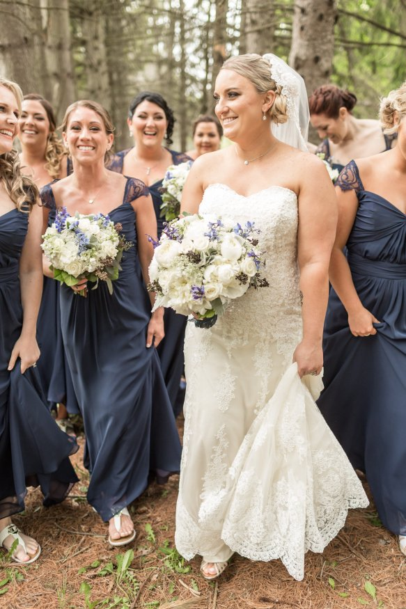 Bride leading her bridesmaid #squadgoals KaitlinNoel Photography bridesmaidsconfession.com