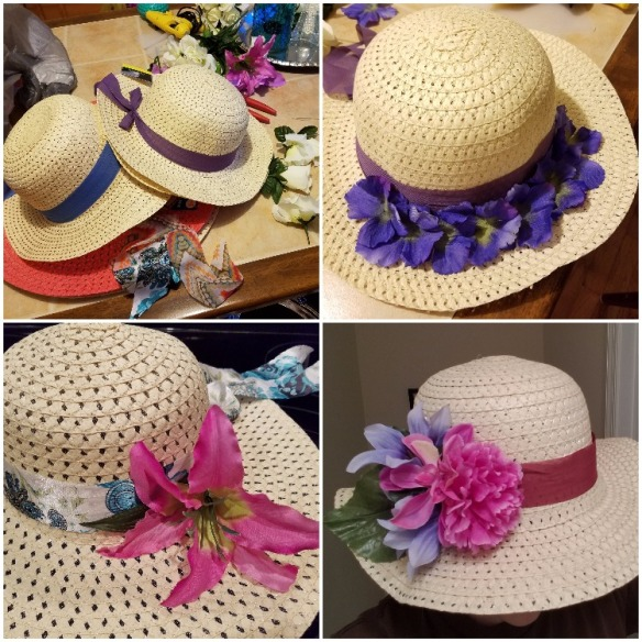 DIY English Garden Party Hats - bridesmaidsconfession.com