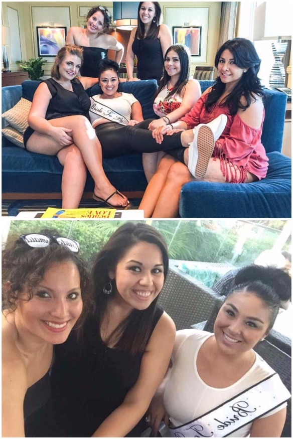 bride-to-be-with-her-bridesmaids-in-vegas