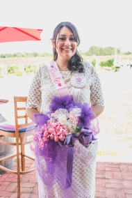Bridal shower bouquet. Take the ribbons and bows from gifts and make them into a bouquet for the bride.