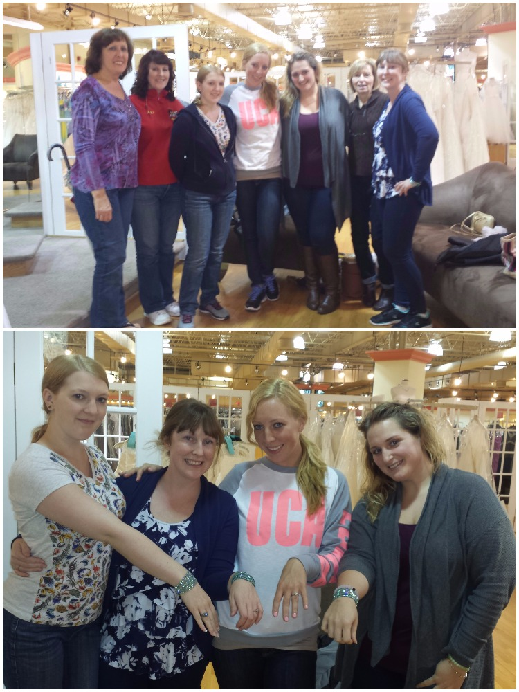 Our group for wedding dress shopping.