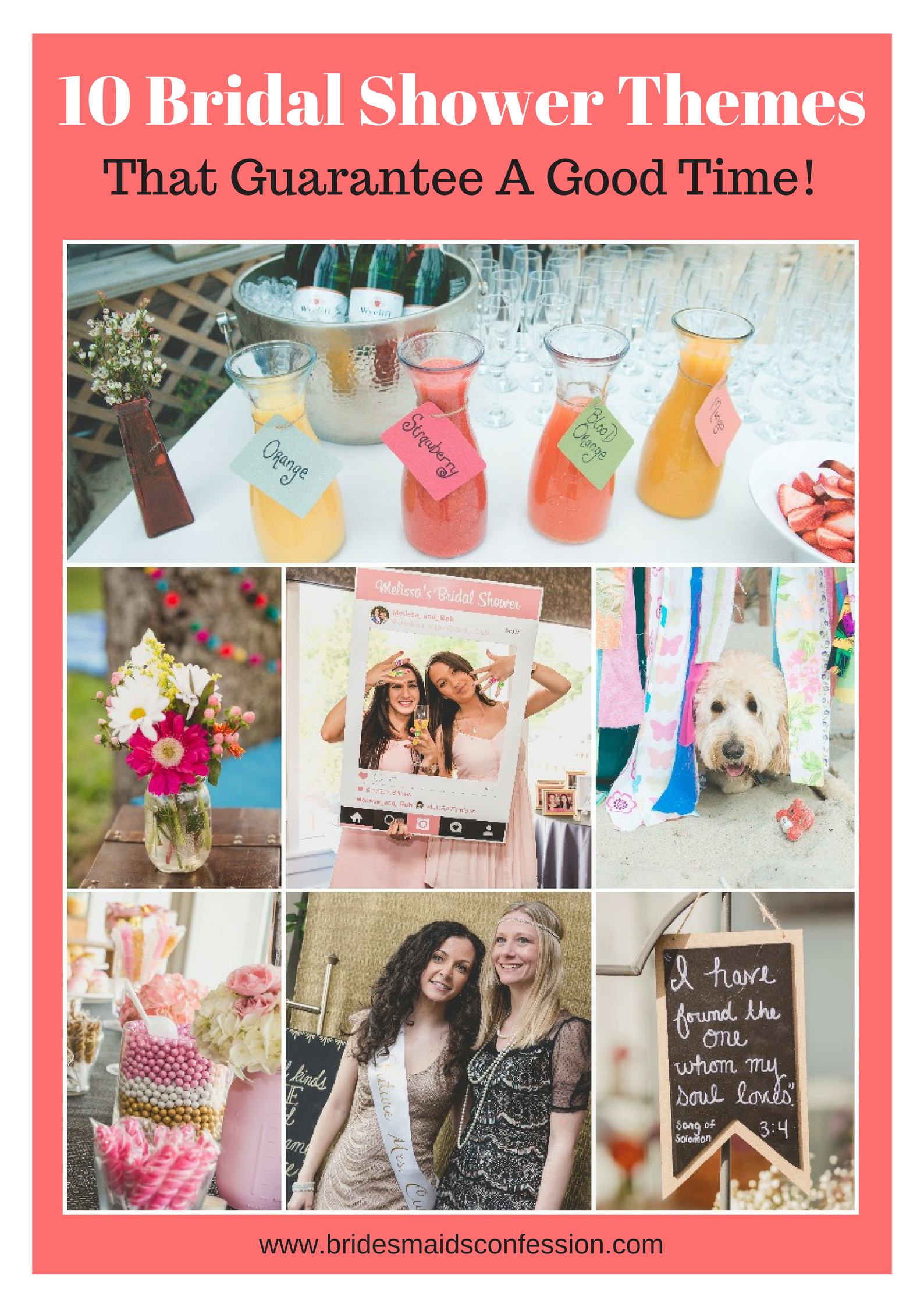 10 Bridal Shower Themes That Guarantee A Good Time!