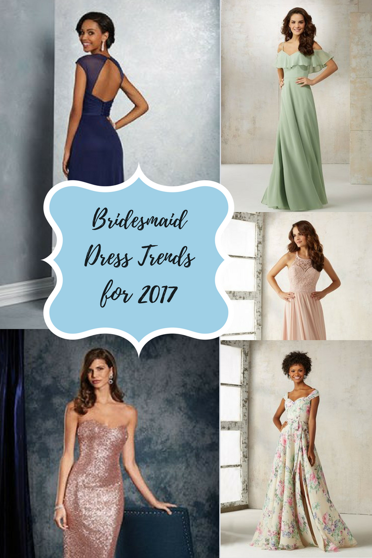 Bridesmaid Dress Trends for 2017